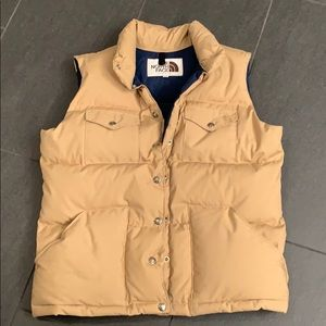 North Face Classic Goose Down Puffer Vest, Large